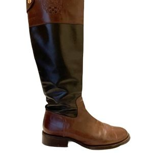 Vince Camuto Fabina Tall Leather Riding Boots